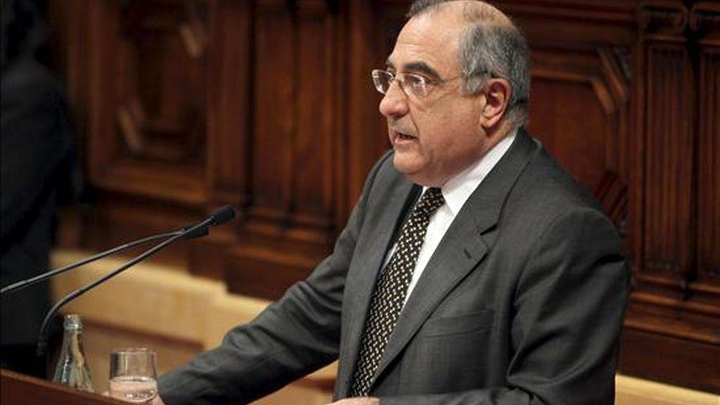 El presidente del grupo del PSC en el Parlament, Joaquim Nadal. EFE/Archivo