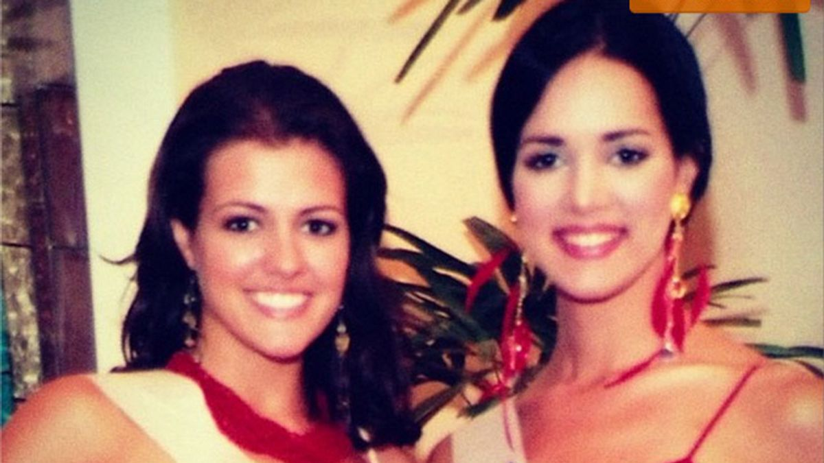 Chelsea Cooley, Miss USA 2005 , y Mónica Spear, Miss Venezuela 2004