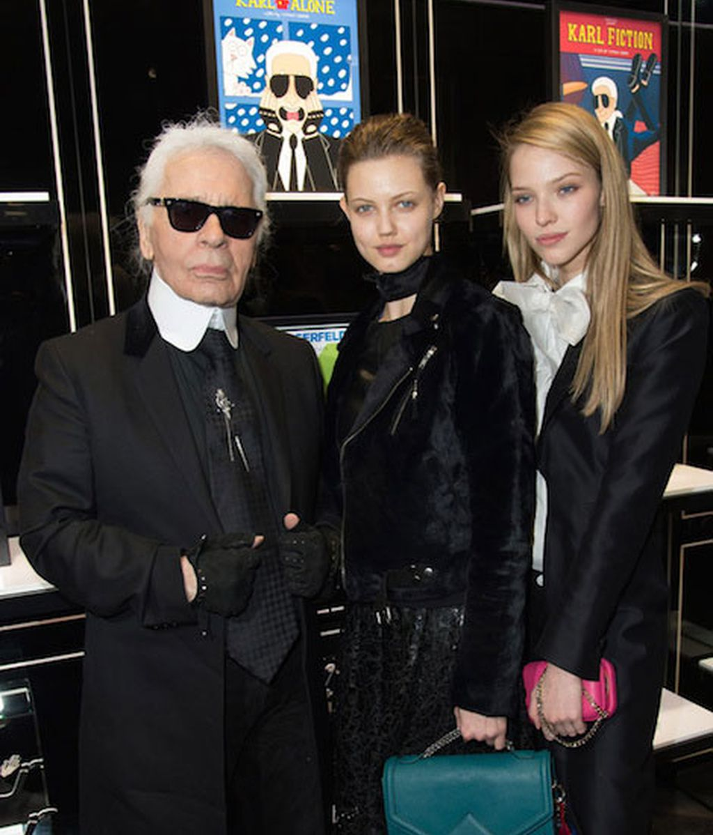 Karl Lagerfeld presenta la exposición de Tiffany Cooper