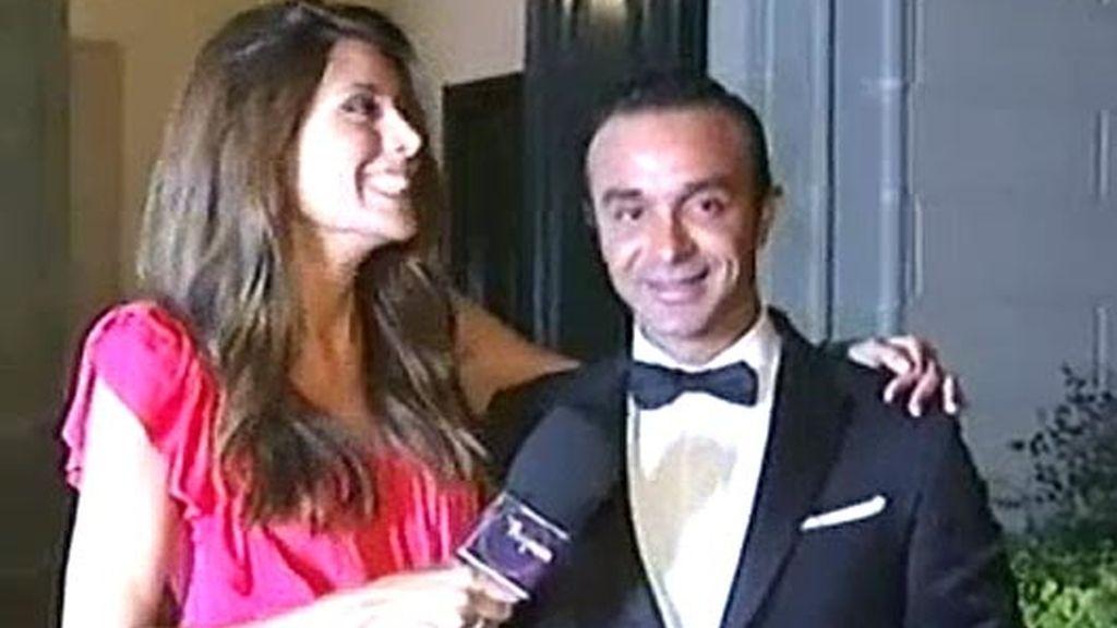 Las primeras imágenes de Luis Rollán tras su boda con Alejo Pascual