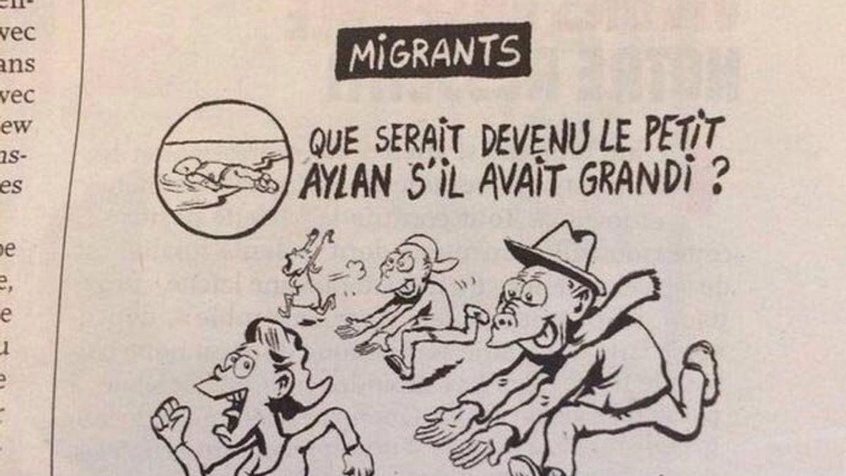 Polémica viñeta de Charlie Hebdo