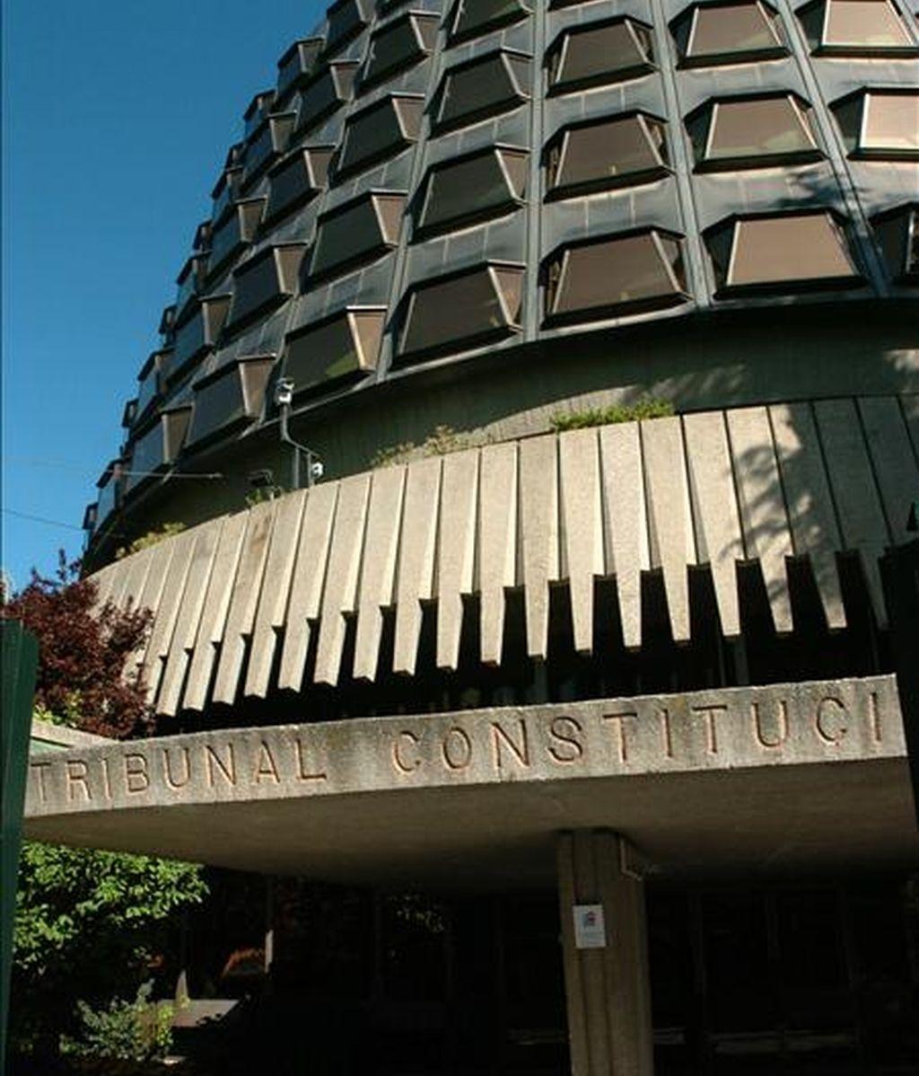 Fachada de la sede del Tribunal Constitucional en Madrid. EFE/Archivo