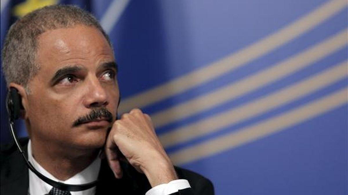 El fiscal general de EEUU, Eric Holder, es el responsable del Departamento de Justicia. EFE/Archivo