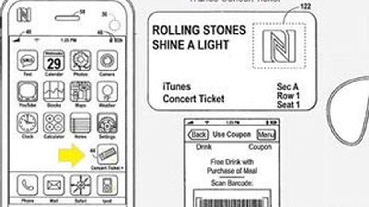 Apple firma una patente para un sistema de tickets virtual vía iTunes. Foto: Patentlyapple.com