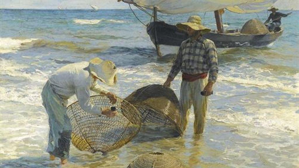 'Pescadores valencianos' de Sorolla