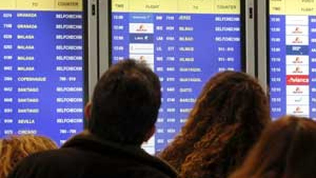 Continúa la huelga de pilotos de Iberia. Video: Informativos Telecinco