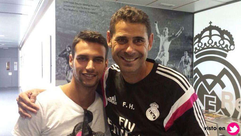 Junto a Fernando Hierro, el ayundante de Ancelotti en el vestuario madridista