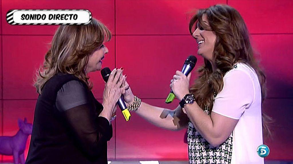 Raquel Bollo y Mila Ximénez se miden ante los micrófonos