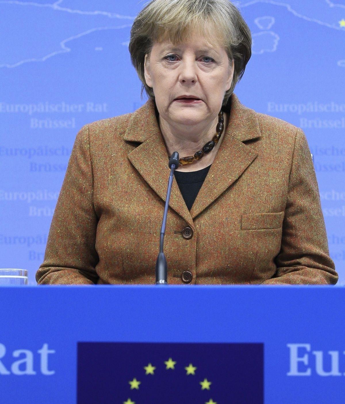 Conferencia de Merkel en Bruselas