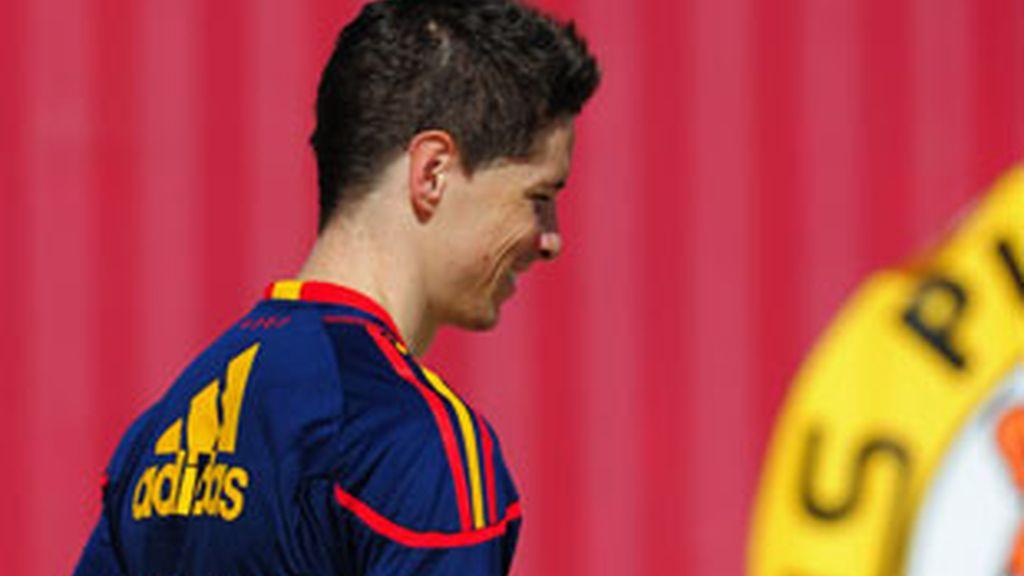Fernando Torres se dirige al entrenamiento en Potch. Foto: G Tres