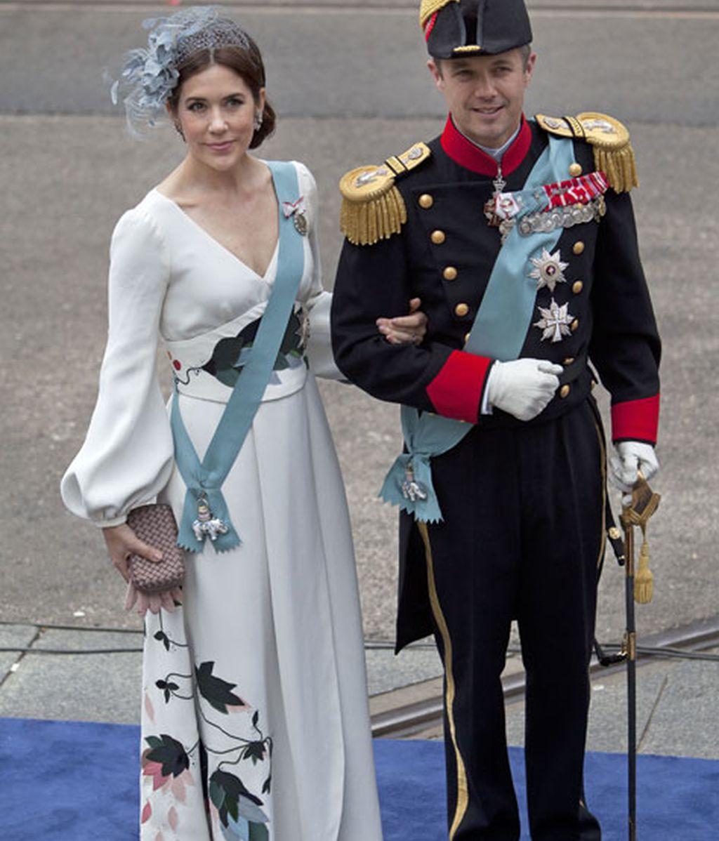 Mary Donalson y Federico de Dinamarca
