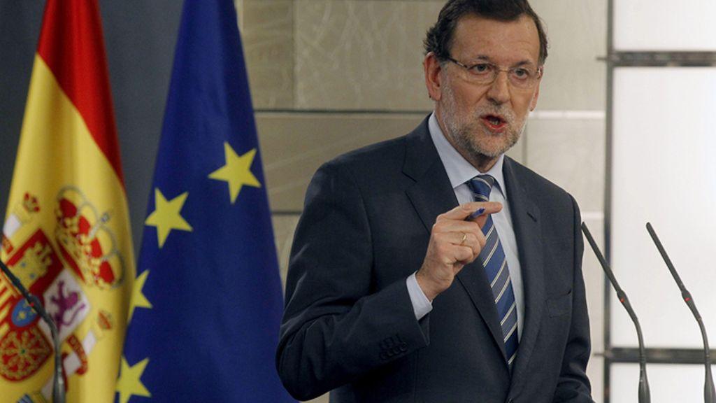 Rajoy asegura que el referéndum de autodeterminación de Cataluña no se celebrará