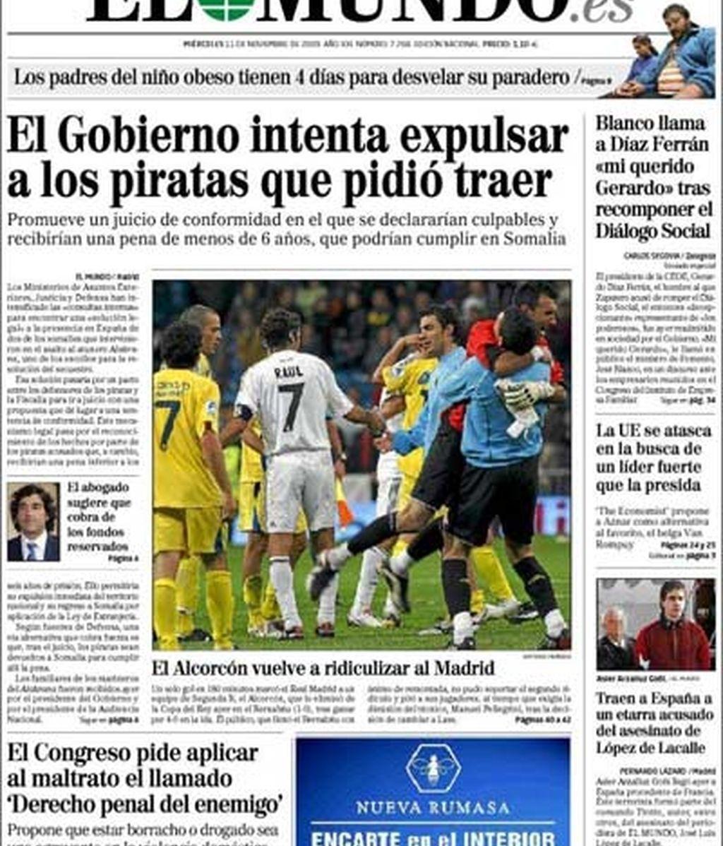 'El Alcorcón vuelve a ridiculizar al Madrid'