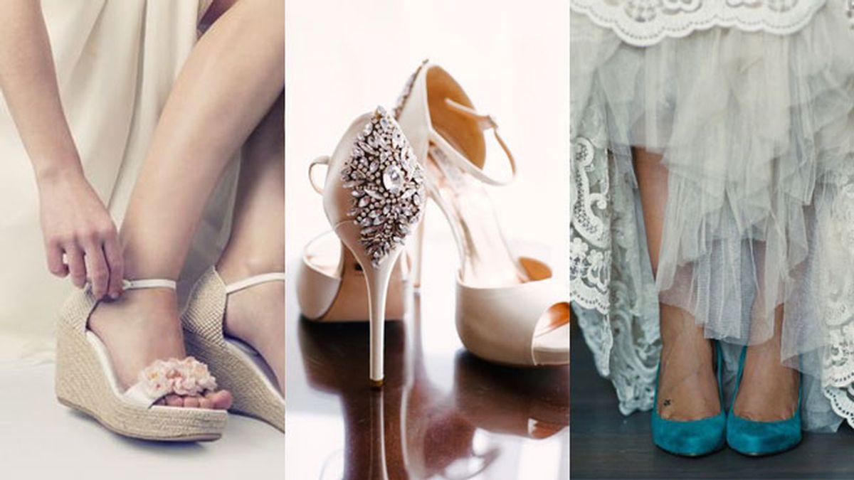 Mis fuentes de inspiración durante el drama de elegir zapatos de novia