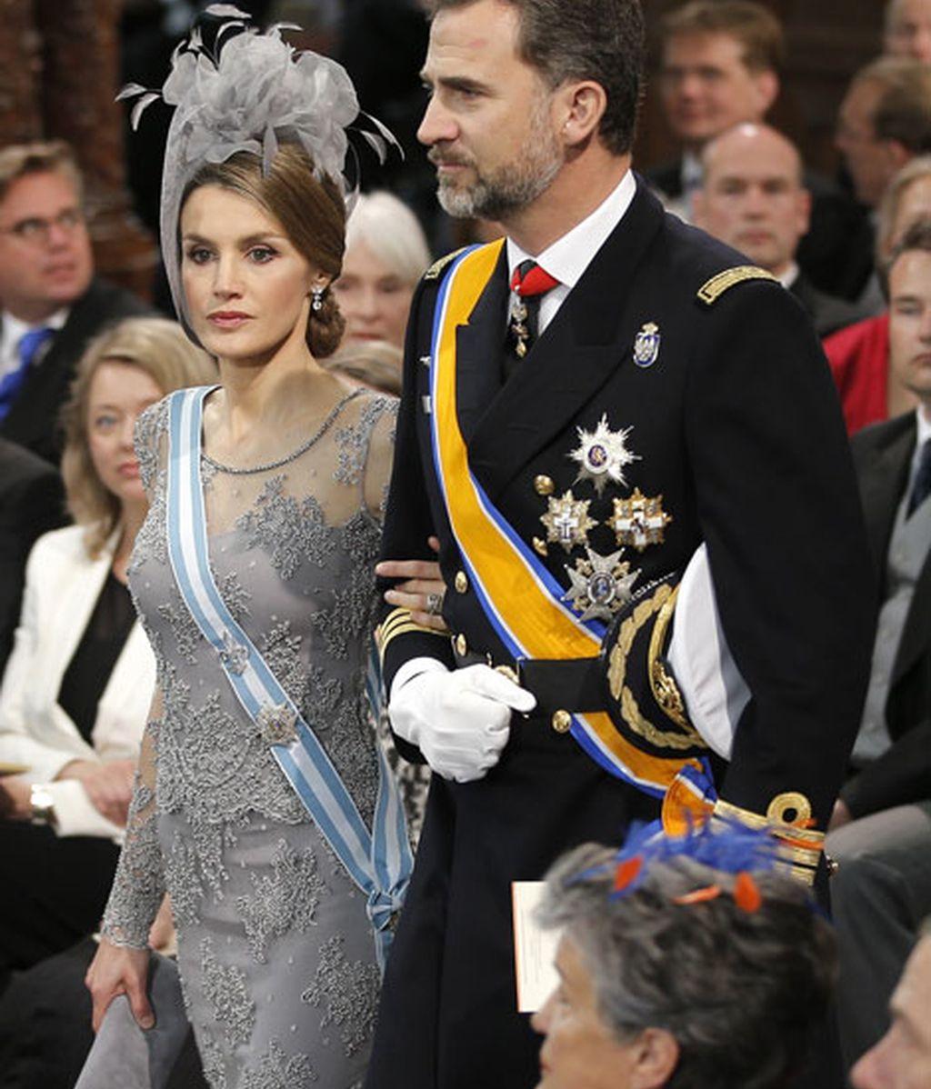 Letizia, fiel a su otro Felipe (Varela), y el príncipe