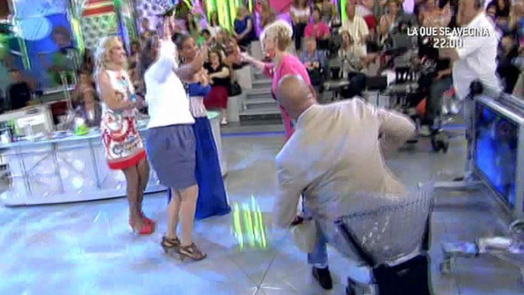 Karmele Marchante vuelve a bailar su rap