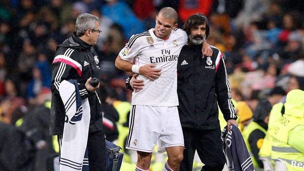 Pepe sufre una contusión costal y será baja ante el Getafe