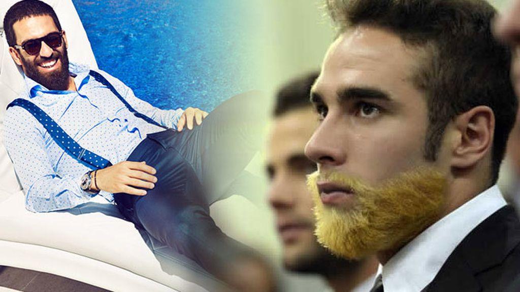 Carvajal y Arda y la vuelta del estilo con barba
