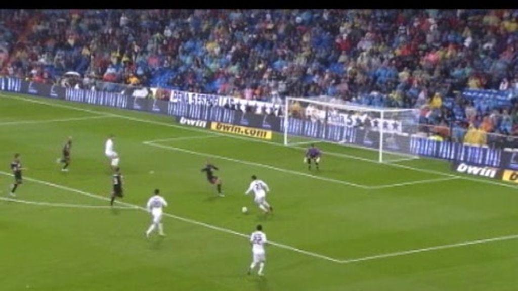 Goleada del Madrid mientras el Barça se atasca