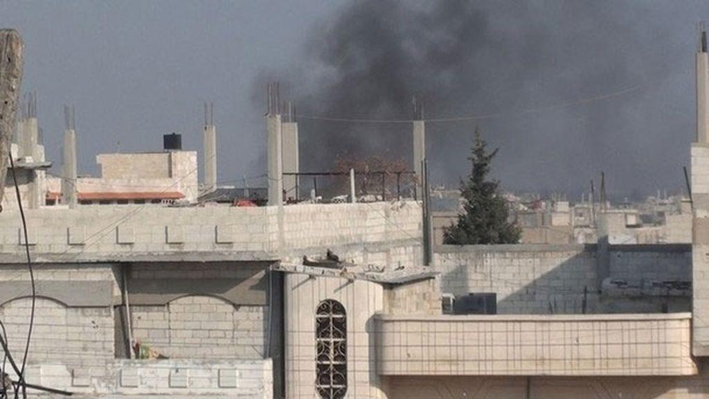 Ataques en la ciudad de Homs