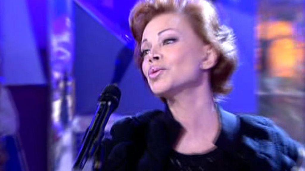 Jorge Javier Vázquez es fan de la cantante