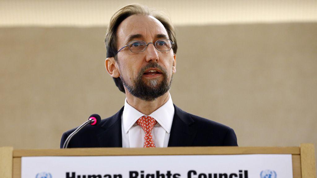 Zeid Raad Al Hussein, Alto Comisionado de la ONU para los Derechos Humanos