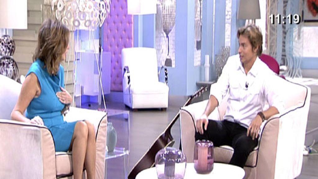 Carlos Baute 'enamora' a Ana Rosa