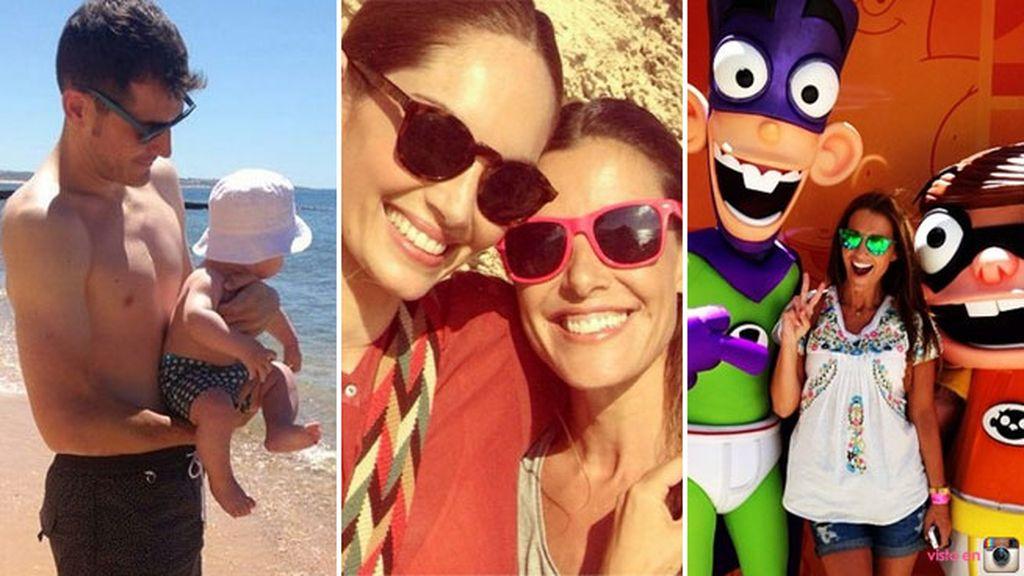 Empiezan a compartir las primeras imágenes de sus vacaciones