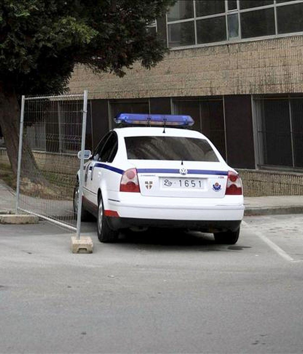 Un vehículo patrulla de la Ertzaintza. EFE/Archivo