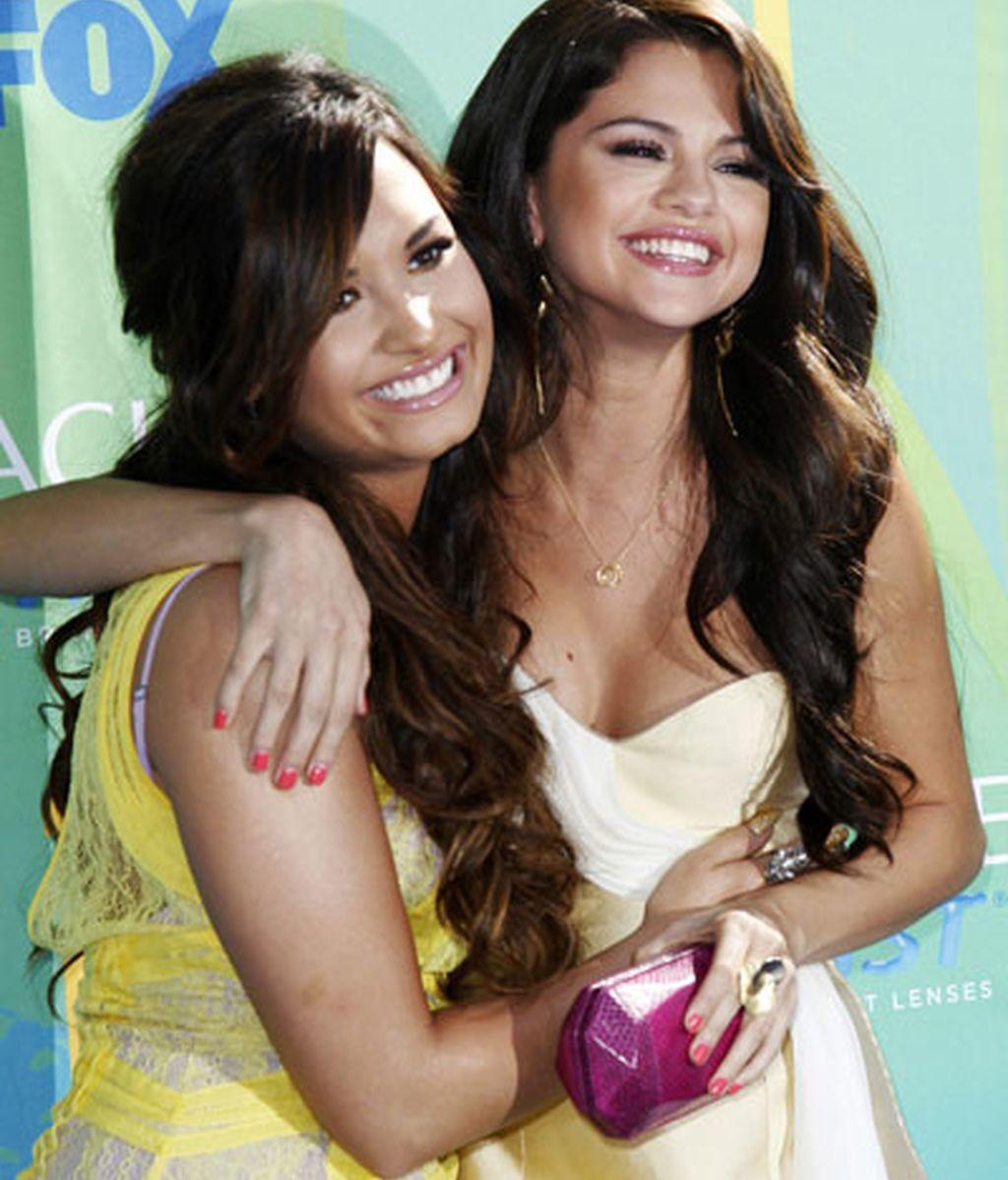 Demi Lobato y Selena Gomez