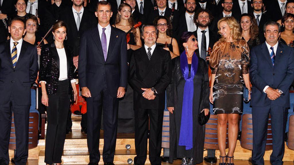 Letizia Ortiz deslumbra con y sin estrellas