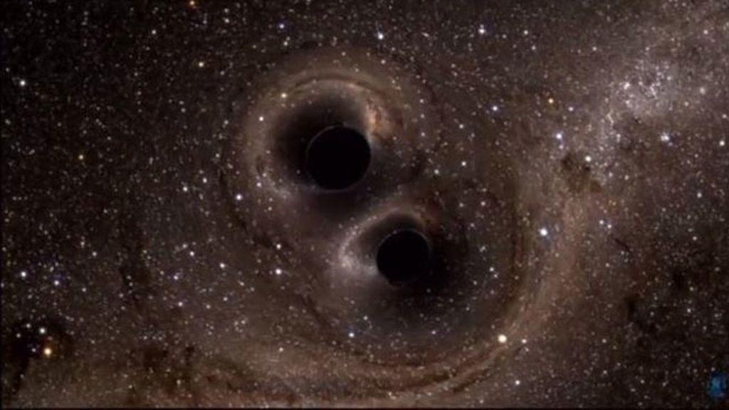 Observan por primera vez las ondas gravitacionales que predijo Einstein hace 100 años