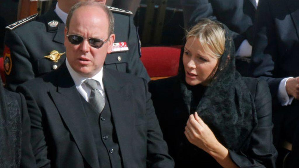 Alberto de Mónaco y su mujer, Charlene