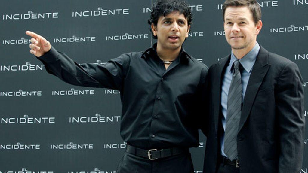 M. Night Shyamalan y Mark Walhberg han visitado Madrid para presentar 'El Incidente'. Vídeo: Informativos Telecinco