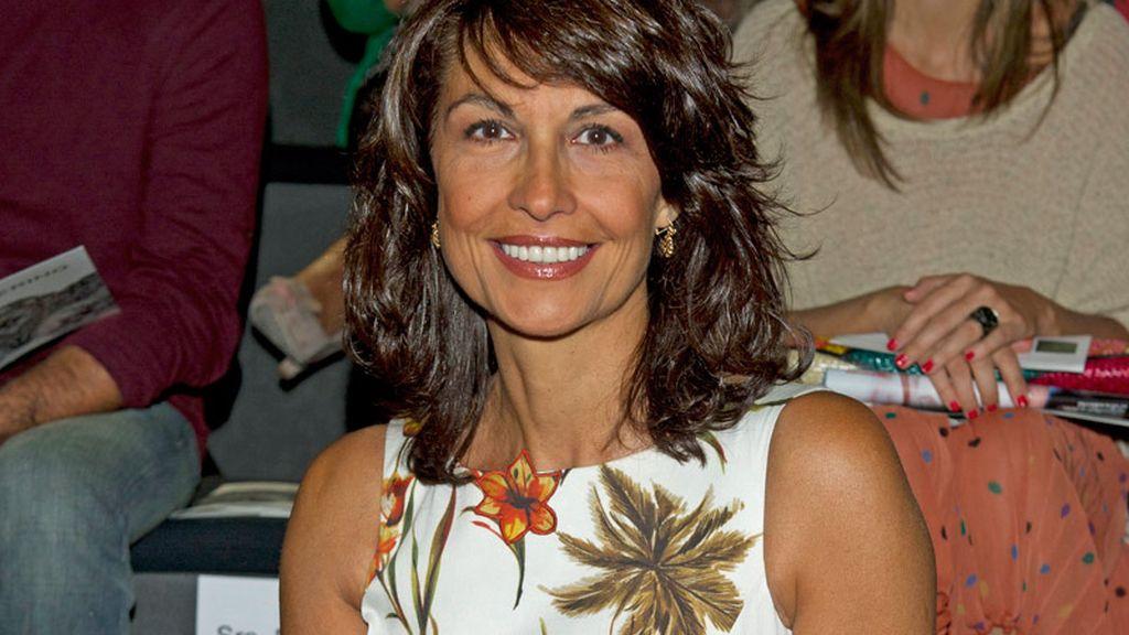 La actriz Cristina Hoyos