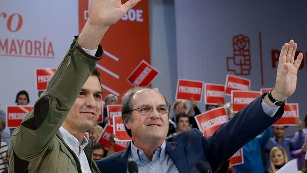 Pedro Sánchez en Getafe