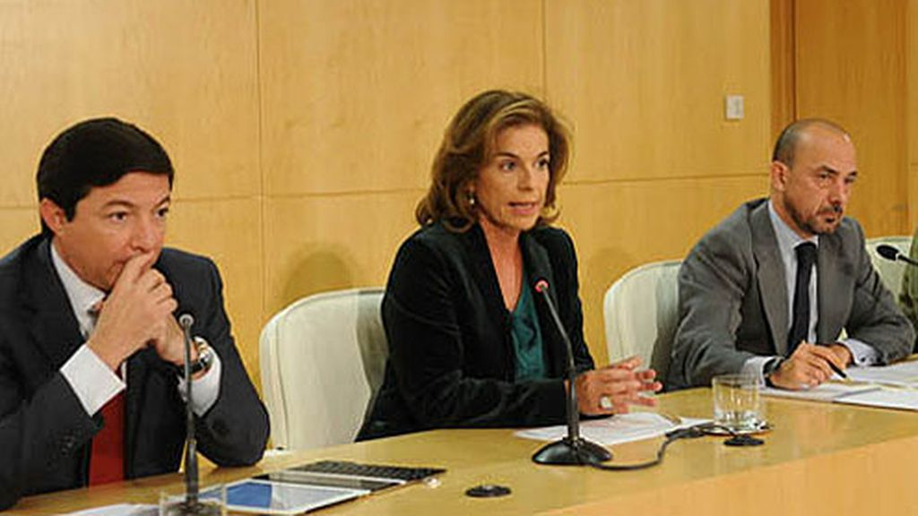 Ana Botella junto a Pedro Calvo