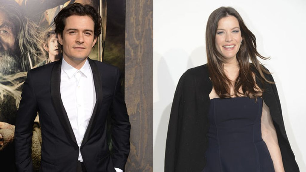 Orlando Bloom y Liv Tyler