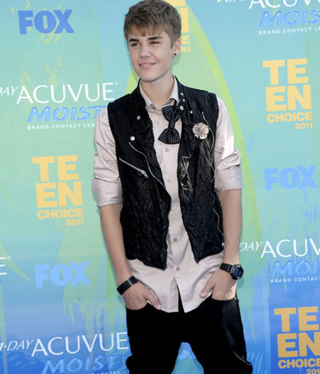 Justin Bieber, mejor artista masculino