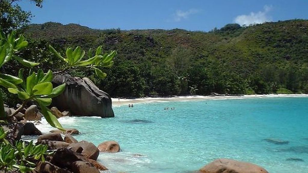 Playa Anse Lazio, en Seychelles