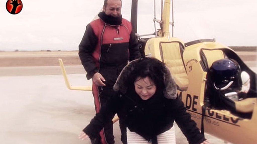 Los mareos afectan a la reportera