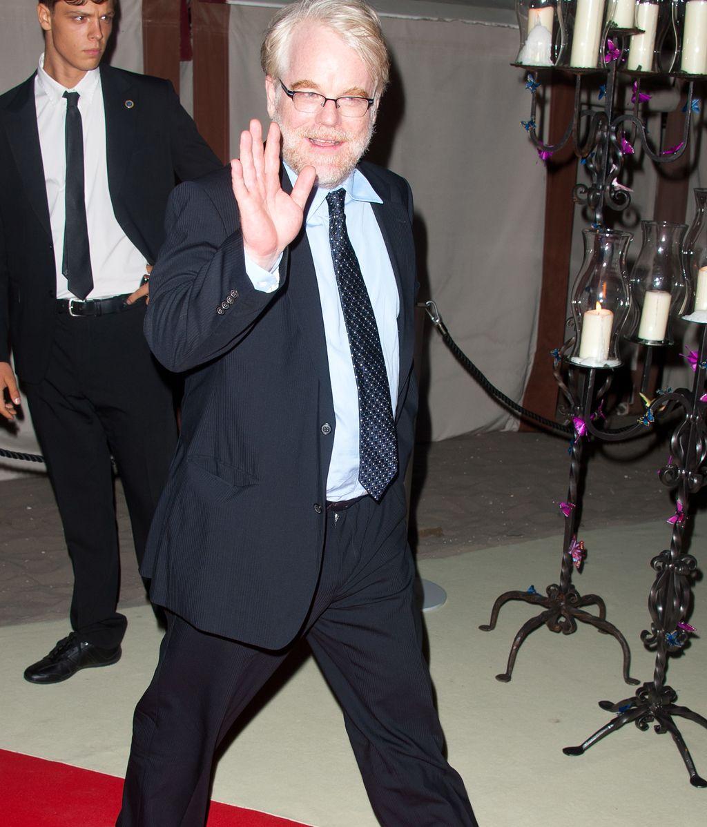 Philip Seymour Hoffman, en el festival de Venecia