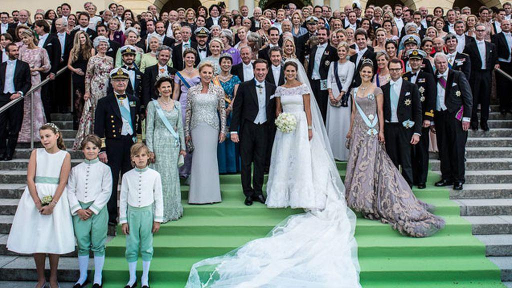 Foto con los invitados