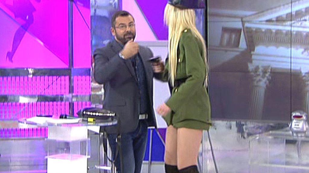 Adriana Abenia a lo Tejero