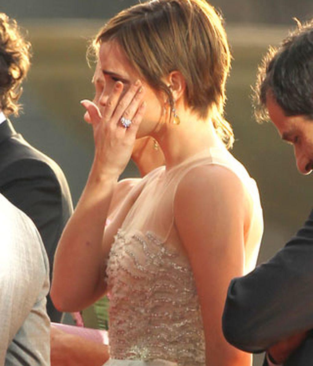 Las lágrimas de Emma Watson