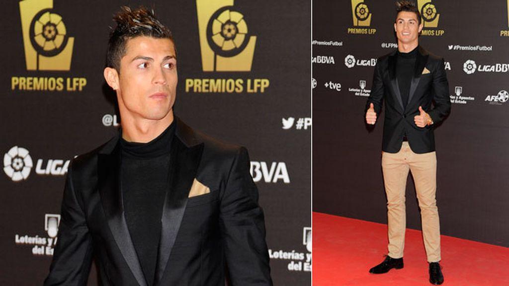 Cristiano Ronaldo recibió un premio a jugador más valioso