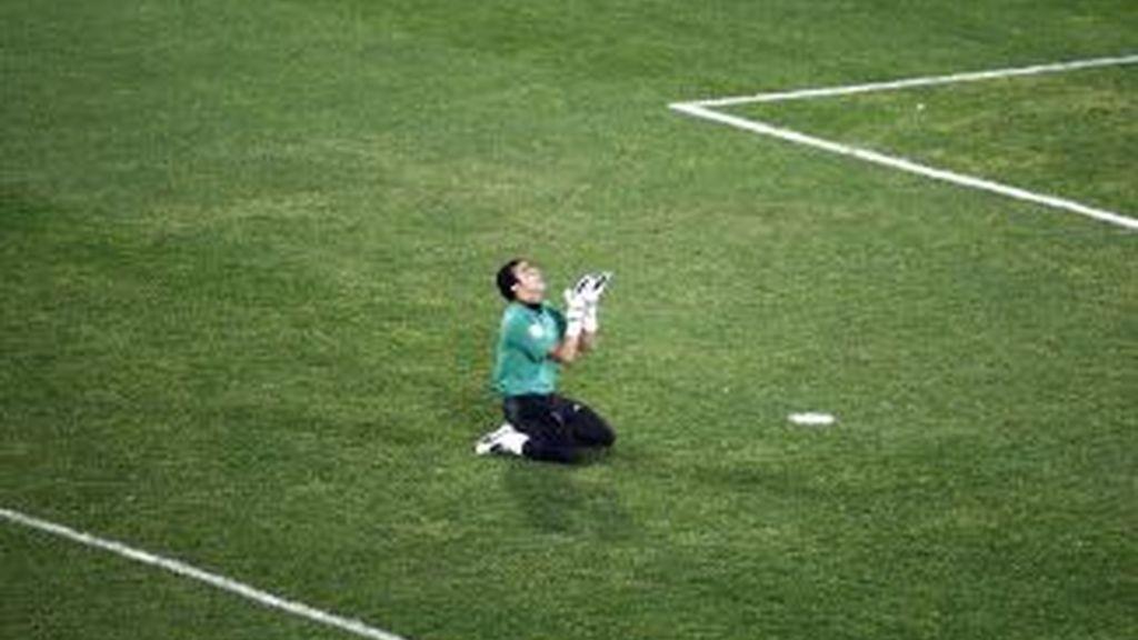 La fiesta se realizó tras ganar a Italia.