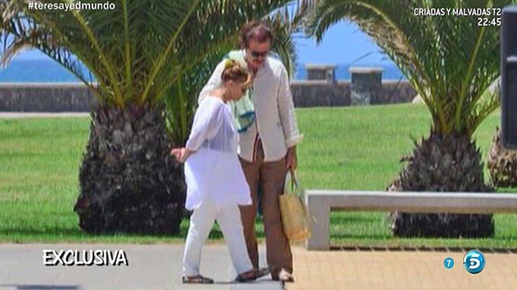 La noticia del verano: Mª Teresa y Bigote Arrocet, juntos