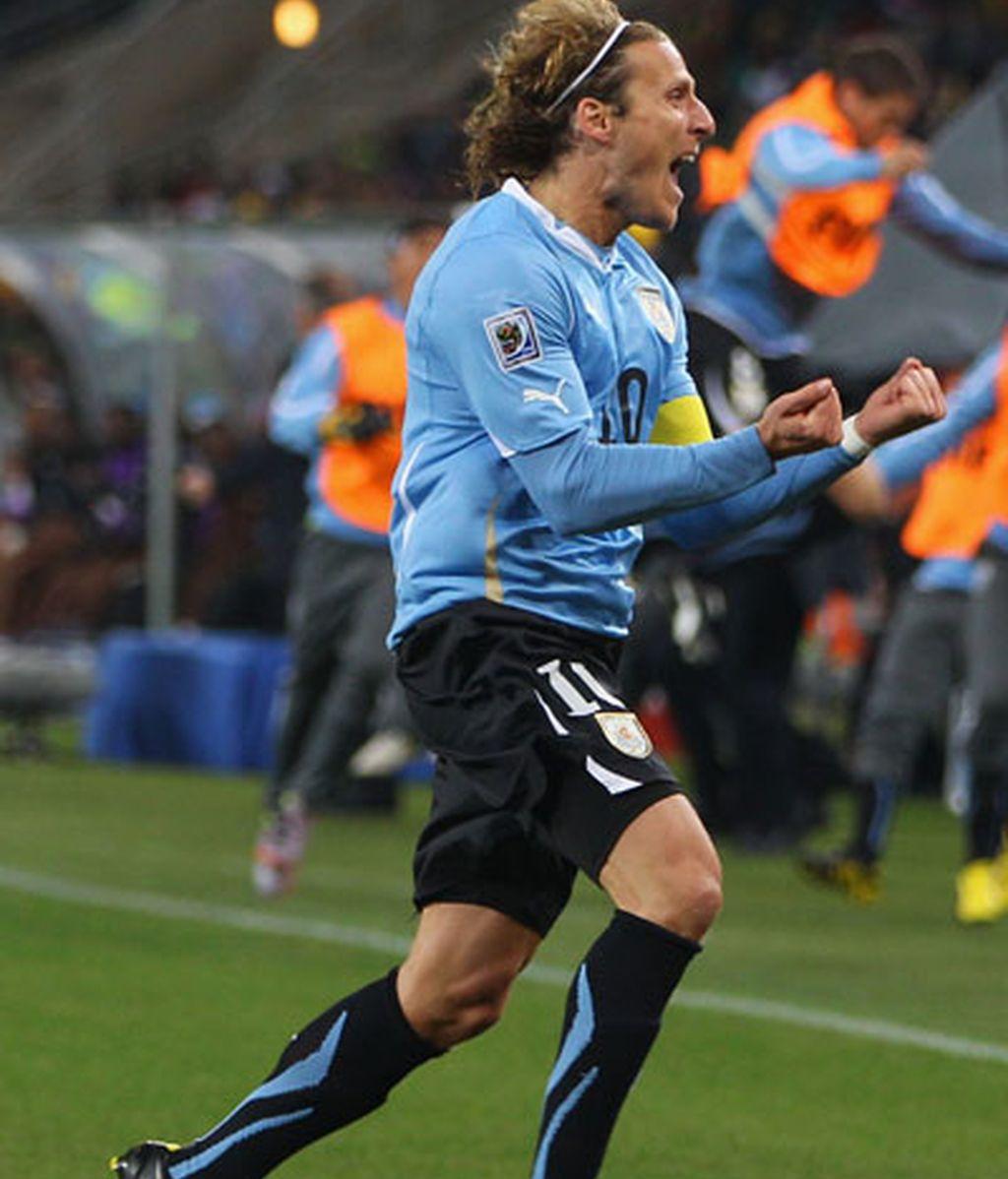 Uruguay vence a Ghana en los penaltis