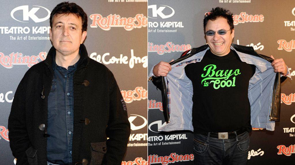 Ramón García y Chimo Bayo, las dos caras de la fiesta